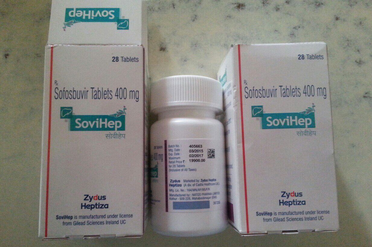 Софосбувир Даклатасвир для лечения гепатита